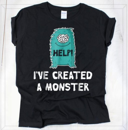 Nice Help I ve Created A Monster Matching Halloween 2018 shirt 2 1 510x519 - Nice Help I've Created A Monster - Matching Halloween 2018 shirt