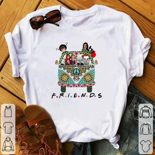 Nice Hippie bus friends Horror movie characters shirt 1 1 510x510 - Nice Hippie bus friends Horror movie characters shirt