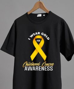 Nice I Wear Gold For Childhood Cancer Awareness Gold shirt 2 1 247x296 - Nice I Wear Gold For Childhood Cancer Awareness Gold shirt