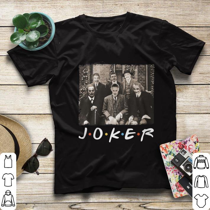 Nice Joker Friends TV Show shirt