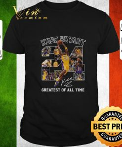 Nice Kobe Bryant greatest of all time signature shirt 1 1 247x296 - Nice Kobe Bryant greatest of all time signature shirt