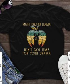 Nice Math teacher llama ain t got time for your drama apple vintage shirt 1 2 1 247x296 - Nice Math teacher llama ain't got time for your drama apple vintage shirt