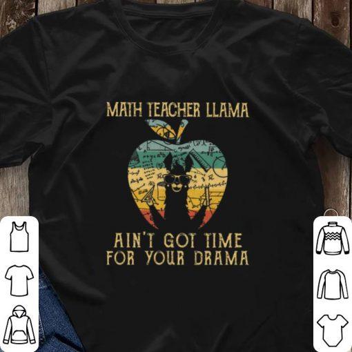 Nice Math teacher llama ain t got time for your drama apple vintage shirt 3 2 1 510x510 - Nice Math teacher llama ain't got time for your drama apple vintage shirt