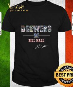 Nice Milwaukee Brewers Bill Hall Signature shirt 1 1 247x296 - Nice Milwaukee Brewers Bill Hall Signature shirt