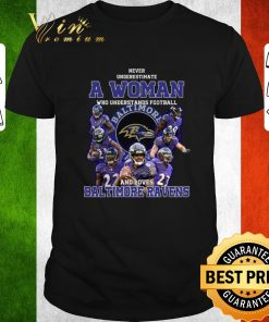 Nice Never underestimate a woman who understands Baltimore Ravens shirt 1 1 247x296 - Nice Never underestimate a woman who understands Baltimore Ravens shirt