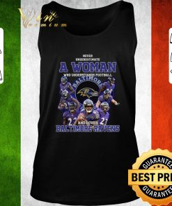 Nice Never underestimate a woman who understands Baltimore Ravens shirt 2 1 247x296 - Nice Never underestimate a woman who understands Baltimore Ravens shirt