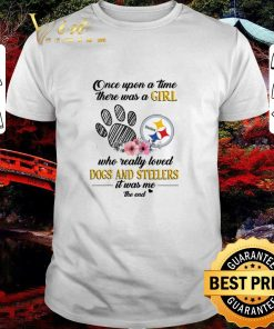 Nice Once upon a time there was a girl who really loved dogs Steelers shirt 1 1 247x296 - Nice Once upon a time there was a girl who really loved dogs Steelers shirt