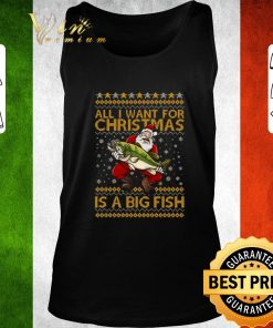 Nice Santa Claus All i want for Christmas is a big fish shirt 2 1 247x296 - Nice Santa Claus All i want for Christmas is a big fish shirt