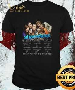 Nice Shameless 2011 2019 signatures thank you for the memories shirt 1 1 247x296 - Nice Shameless 2011-2019 signatures thank you for the memories shirt