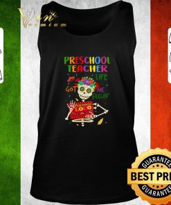 Nice Skull Preschool teacher life got me feelin un poco loco shirt 2 1 247x296 - Nice Skull Preschool teacher life got me feelin' un poco loco shirt