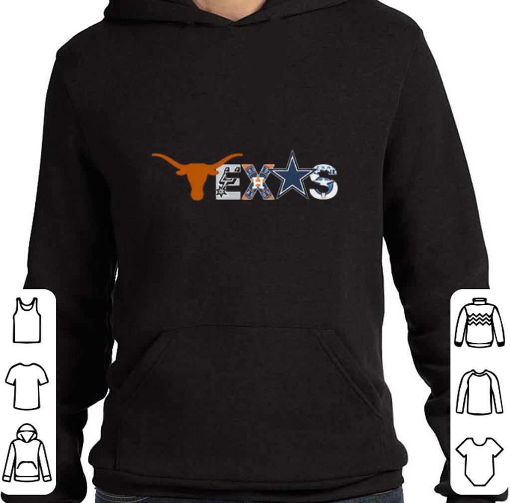Nice Texas Sport Teams Longhorns Austin Spurs Houston Astros Cowboys shirt