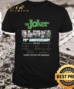 Nice The Joker 79th Anniversary 1940 2019 thank you for the memories shirt 1 1 247x296 - Nice The Joker 79th Anniversary 1940-2019 thank you for the memories shirt