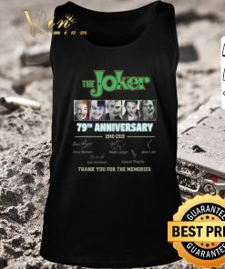 Nice The Joker 79th Anniversary 1940 2019 thank you for the memories shirt 2 1 247x296 - Nice The Joker 79th Anniversary 1940-2019 thank you for the memories shirt