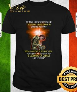 Nice The devil whispered in my ear a warrior of Christ i am the storm shirt 1 1 247x296 - Nice The devil whispered in my ear a warrior of Christ i am the storm shirt