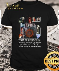 Official 15 years of Supernatural 2005 2020 thank you for the memories shirt 1 1 247x296 - Official 15 years of Supernatural 2005-2020 thank you for the memories shirt