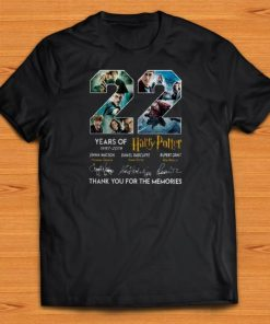 Official 22 Years Of Harry Potter 1997 2019 Thank You For The Memories shirts 1 1 247x296 - Official 22 Years Of Harry Potter 1997-2019 Thank You For The Memories shirts