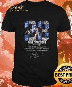 Official 23 Ryne Sandberg Ryno thanks for the memories signature shirt 1 1 247x296 - Official 23 Ryne Sandberg Ryno thanks for the memories signature shirt