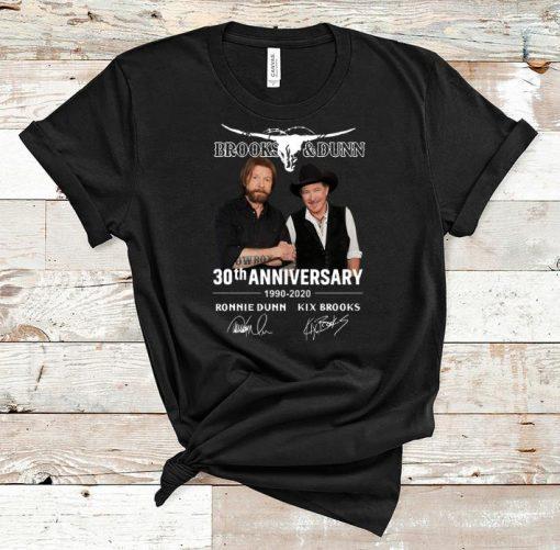 Official Brooks Dunn 30th Anniversary 1990 2020 Ronnie Dunn Signatures shirt 1 1 510x501 - Official Brooks & Dunn 30th Anniversary 1990-2020 Ronnie Dunn Signatures shirt