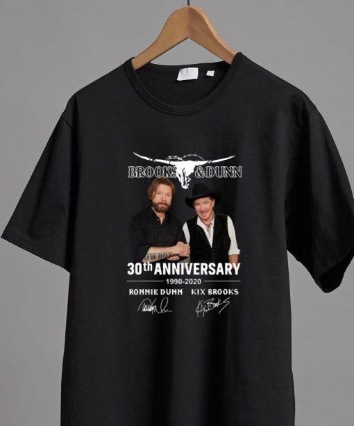 Official Brooks Dunn 30th Anniversary 1990 2020 Ronnie Dunn Signatures shirt 2 1 510x613 - Official Brooks & Dunn 30th Anniversary 1990-2020 Ronnie Dunn Signatures shirt