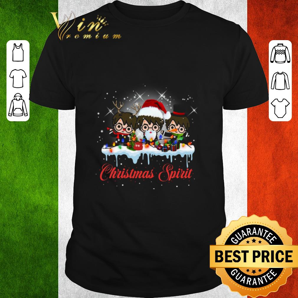 Harry Potter Christmas Shirt.Official Harry Potter Christmas Spirit Shirt
