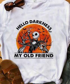 Official Jack Skellington Hello Darkness My Old Friend Blood Moon shirt 1 1 247x296 - Official Jack Skellington Hello Darkness My Old Friend Blood Moon shirt