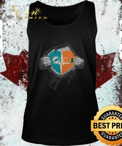 Official Miami Dolphins Miami Hurricanes inside my heart shirt 2 1 247x296 - Official Miami Dolphins Miami Hurricanes inside my heart shirt