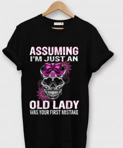 Official Queen Skull Assuming I m Just An Old Lady Was Your First mistake shirt 1 1 247x296 - Official Queen Skull Assuming I'm Just An Old Lady Was Your First mistake shirt