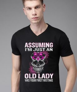 Official Queen Skull Assuming I m Just An Old Lady Was Your First mistake shirt 2 1 247x296 - Official Queen Skull Assuming I'm Just An Old Lady Was Your First mistake shirt