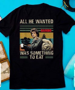 Official Rambo All He Wanted Was Something To Eat Vintage shirt 1 1 247x296 - Official Rambo All He Wanted Was Something To Eat Vintage shirt