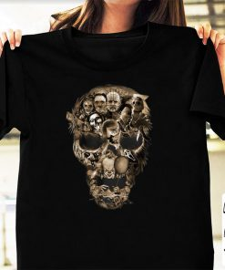 Official Skull Horror Movie Characters Halloween shirt 1 1 247x296 - Official Skull Horror Movie Characters Halloween shirt