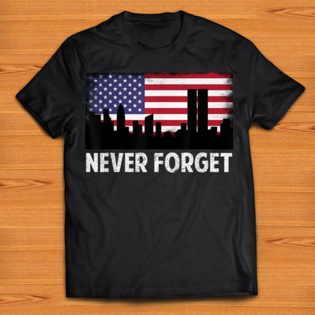 Official Vintage Never Forget Patriotic 911 American Flag shirts