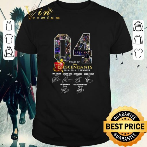Original 04 Years of Descendants 2015 2019 3 seasons signatures shirt 1 1 510x510 - Original 04 Years of Descendants 2015-2019 3 seasons signatures shirt