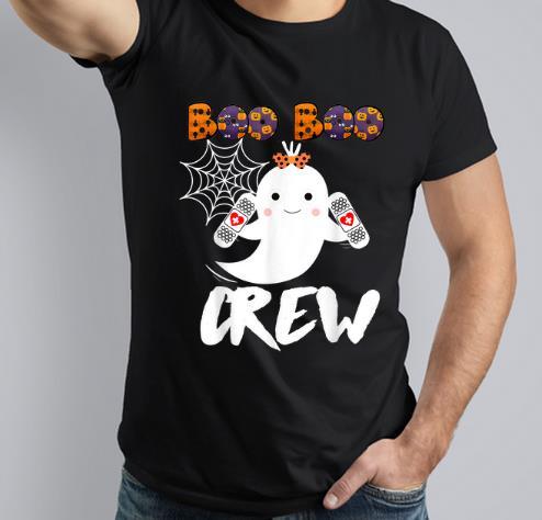 Original Boo Boo Crew Nurse Cute Halloween Costume shirt 3 1 - Original Boo Boo Crew Nurse Cute Halloween Costume shirt