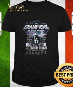 Original Champions NL West Division Los Angeles Dodgers october reign shirt 1 1 247x296 - Original Champions NL West Division Los Angeles Dodgers october reign shirt