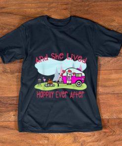 Original Flamingo And She Lived Happily Ever After Love Camping shirt 1 1 247x296 - Original Flamingo And She Lived Happily Ever After Love Camping shirt