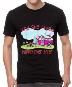 Original Flamingo And She Lived Happily Ever After Love Camping shirt 2 1 247x296 - Original Flamingo And She Lived Happily Ever After Love Camping shirt