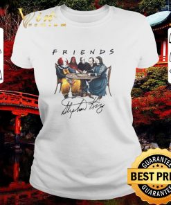 Original Friends Stephen King Pennywise IT Signature shirt 2 1 247x296 - Original Friends Stephen King Pennywise IT Signature shirt