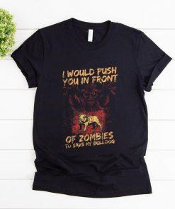 Original Halloween Zombies Save My Bulldog Dog For Men Women Kids shirt 1 1 247x296 - Original Halloween Zombies Save My Bulldog Dog For Men, Women & Kids shirt