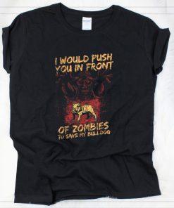 Original Halloween Zombies Save My Bulldog Dog For Men Women Kids shirt 2 1 247x296 - Original Halloween Zombies Save My Bulldog Dog For Men, Women & Kids shirt