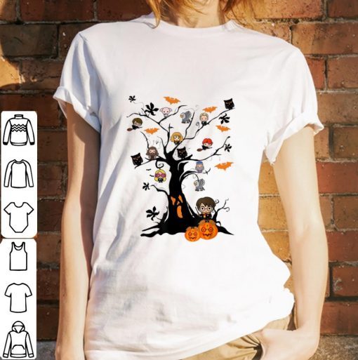 Original Harry Potter Character On Tree Horror Halloween Tree shirt 3 1 510x513 - Original Harry Potter Character On Tree Horror Halloween Tree shirt