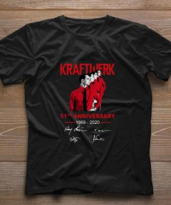 Original Kraftwerk 51th Anniversary 1969 2020 signatures shirt 1 1 247x296 - Original Kraftwerk 51th Anniversary 1969-2020 signatures shirt