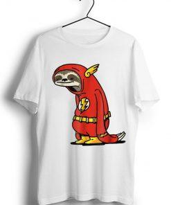 Original Sloth Superhero The Flash DC shirt 1 1 247x296 - Original Sloth Superhero The Flash DC shirt
