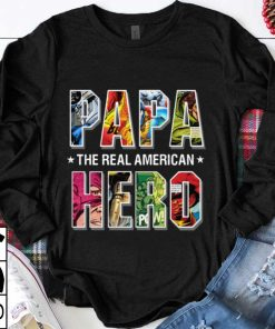 Original The Real American Hero Superheroes Papa shirt 1 1 247x296 - Original The Real American Hero Superheroes Papa shirt