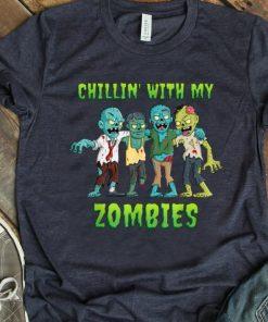 Premium Chillin With My Zombies Halloween Boys Kids Funny shirt 1 1 247x296 - Premium Chillin With My Zombies Halloween Boys Kids Funny shirt
