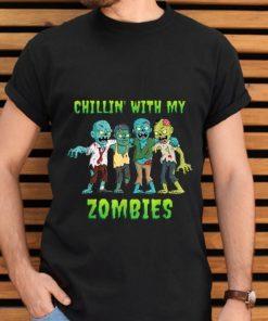 Premium Chillin With My Zombies Halloween Boys Kids Funny shirt 2 1 247x296 - Premium Chillin With My Zombies Halloween Boys Kids Funny shirt