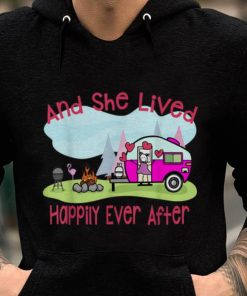 Premium Flamingo And She Lived Happily Ever After Love Camping shirt 1 1 247x296 - Premium Flamingo And She Lived Happily Ever After Love Camping shirt