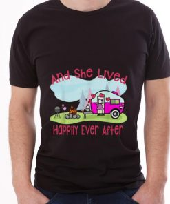 Premium Flamingo And She Lived Happily Ever After Love Camping shirt 2 1 247x296 - Premium Flamingo And She Lived Happily Ever After Love Camping shirt