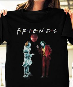 Premium Friends Pennywise With Joker shirt 1 1 247x296 - Premium Friends Pennywise With Joker shirt