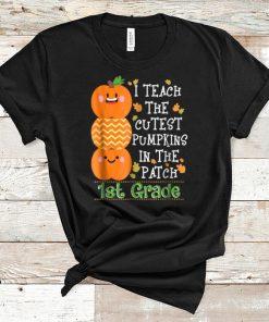 Premium Halloween Teacher I Teach Cutest Pumpkins 1st Grade shirt 1 1 247x296 - Premium Halloween Teacher I Teach Cutest Pumpkins 1st Grade shirt