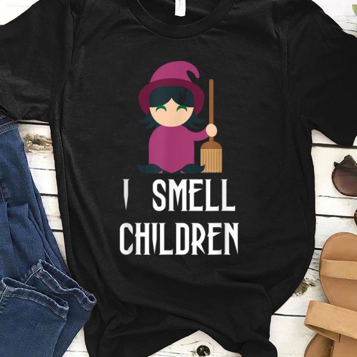 Premium Halloween Witch Costume - I Smell Children shirt